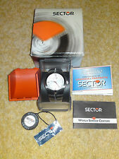 Sector 470 swiss movimento orologio RRP £ 280