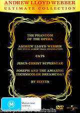 ANDREW LLOYD WEBBER: Ultimate Collection DVD NEW Phantom Cats Jesus...6-DISCS R4