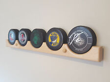 Hockey Puck Display Case Holder / Rack (5)