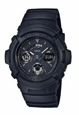 Casio G-Shock Men's Matte Black Ana Digi World Time Watch AW591BB-1A
