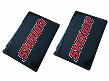 4MX Fork Decals SHOWA Carbon Stickers fits Bombardier DS650 X 04-07