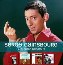 4 CD Originals [Box] by Serge Gainsbourg (CD, Oct-2010, 4 Discs, Universal...