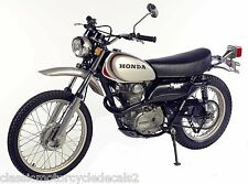 Honda XL250 XL350 Motorsport restauración DECAL set