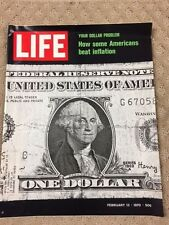 Life Magazine FEBRUARY 13,1969 -INFLATION DOLLAR   -NEW  - V. GOOD COND- P14