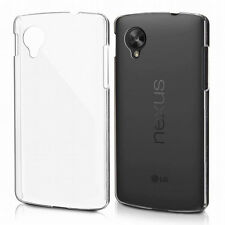 Ultra-Thin Transparent Clear Soft TPU Case Cover Skin For LG Google Nexus 5 JU