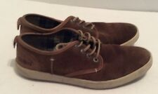 KICKERS KOOLMAX LACE UP SUEDE LEATHER CASUAL MEN'S SHOES SNEAKERS SZ 9.5