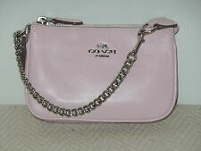 New Coach Nolita Wallet Wristlet 15 IN Leather Petal