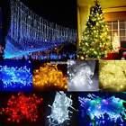 100/300/600 LED String Fairy Lights Wedding Xmas Tree Party Indoor/Outdoor EN24H