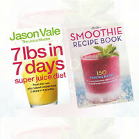 The Juice Master Diet Collection (The Smoothie Recipe & 7LBS  Book) 2 Books Set