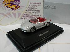 "Schuco 26108 # Porsche Boxster S Cabrio Baujahr 2002 in "" silber-metallic "" 1:87"