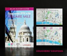 CITY OF LONDON 2012 OLYMPICS / PARALYMPICS LEAFLET SUMMER 2012 SQUARE MILE