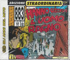 CD ♫ Compact disc 883 • MAX PEZZALI • HANNO UCCISO L'UOMO RAGNO Slipcase nuovo