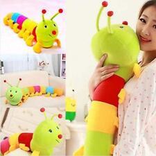 Colored Inchworm Soft Caterpillar Toy Cute Developmental Child Baby Doll 50CM WT