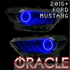 2015 Ford Mustang Oracle SMD LED Halo Light Kit for Headlights (Blue)