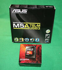 AMD FX 4350 4.2GHz Processor & Asus M5A78L-M Motherboard AM3+ NEW Combo!