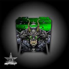 Polaris RZR XP 900 800 570 UTV Graphics Hood Decal 2011-2014 Guardian Green
