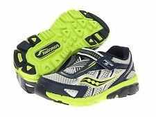 Saucony Boys Sneakers Navy/Blue/Lime INFANT/TODDLER Boys  Size 4 Medium