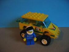 Lego Auto 6550 Rennwagen Outback Racer mit Figur  90er Jahre