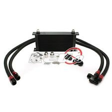 19 Row Oil Cooler Kit (Bar/Plate Core) Mazada 3 Miata RX7 RX8 Mazdaspeed MX5