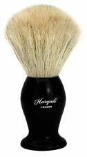 Pure White Badger Hair Men's Shaving Brush in Black Handle.Comes In designer Box