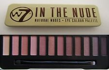 W7 Eyeshadow Eye Colour Palette Natural Nudes Bronze Smokey Eyes IN THE NUDE