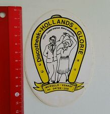 Aufkleber/Sticker: Discotheek Hollands Glorie (250516133)