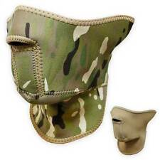 Bulldog Elite Neoprene Face Mask Reversible MTP Multicam Coyote Tan Military