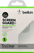 Belkin iPhone SE 5S SC 5 Damage Control Screen Protector Guard Overlay TruClear