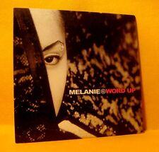 Cardsleeve Single CD MELANIE G Word Up 2TR 1999 Funk Pop Rap SPICE GIRLS