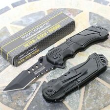 Tac Force Quick Draw Assisted Opening Tactical Folder/Tanto Blade Pocket Knife
