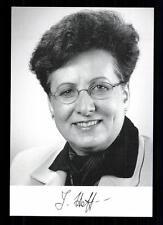 Jelena Hoffmann Autogrammkarte Original Signiert ## BC 29783