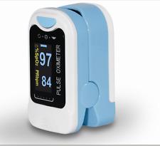 FDA US seller Finger Tip Pulse Oximeter Blood Oxygen SpO2 Monitor lanyard &Pouch