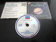 """HOLST """"THE PLANETS"""" ORIG DECCA 1987 CD WEST GERMANY PDO HANOVER"""