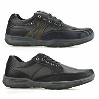 Mens Casual Work Boat Deck Walking Hiking Lace Up Trainers Driving Shoes Size