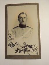 Mülhausen - Soldat in Uniform mit Gurt - Regiment Nr. 22 - Dragoner ? / CDV
