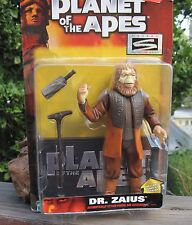 "Vintage 1999 Hasbro Action Figure Planet of the Apes Dr. Zaius W/Stand + 7"" MOC"