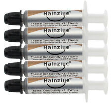 5 x 1g SILVER THERMAL GREASE PASTE TUBE HY710 CPU COOLING HEATSINK GPU CHIPSET