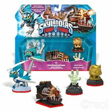 New Skylanders Trap Team Nightmare Express Adventure Pack & Figures Official