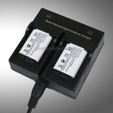 Dual Charger +2x Battery NP-BX1 for Sony DR-X1000V/W FDR-X1000V/W FDR-X1000VR/W