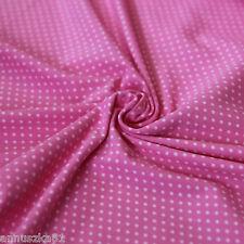 Tissu Jersey Points À Pois Mini Rose tendre sur - à pour enfants