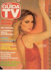 rivista  NUOVA GUIDA TV ANNO 1983 NUMERO 20 LORETTA GOGGI