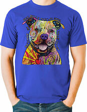 Pit Bull T Shirt Neon Puppy Dog Loveable Small to 6XL Big Tall - Free Shipping