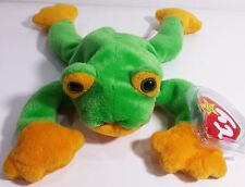 "TY Beanie Babies ""SMOOCHY"" the FROG - MWMTs! RETIRED! CHECK OUT MY ITEMS & SAVE"
