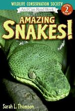 Amazing Snakes! (I Can Read Book 2)-ExLibrary