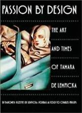 Passion by Design: The Art and Times of Tamara De Lempicka-ExLibrary