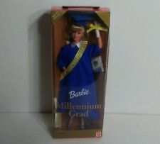 BARBIE MILLENNIUM GRADUATE DOLL CLASS 2000 MATTEL VINTAGE COLLECTIBLE TOY BLUE