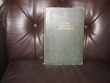 "ANTIQUE 1927 1st.EDITION ~""THE NEW CENTURY DICTIONARY""~VOL. 2~ LEA to STOM~RARE!"