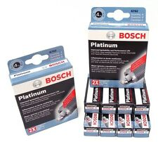 BOSCH OE FINE WIRE PLATINUM Spark Plugs 0242230567 6721 Set of 8