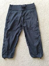 Lululemon Dance Studio Crop Capri Unlined Charcoal Gray Size 6 Pant EUC