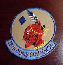 USAF FLIGHT SUIT PATCH,28TH BOMB SQUADRON, 2 WITH VELCR